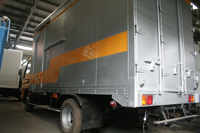 9b7789ee9d Mitsubishi Canter Closed Van JX509 – Known Industries