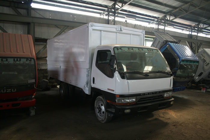 233b70a93b Mitsubishi Canter Wing Van KY198 – Known Industries